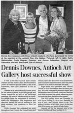 Dennis Downes News Articles